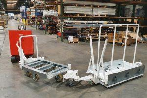Train logistique sur mesure composé de différentes solutions d'approvisionnement